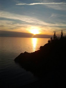 Sunset at Cape Chignecto