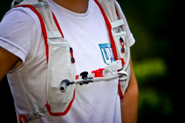 Front view of the E-Lite Vest front pockets