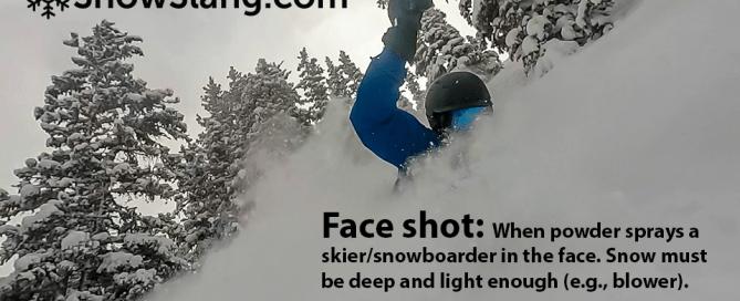 Face shot at Winter Park, Colorado. Photo of/by Mitch Tobin, editor SnowSlang.com