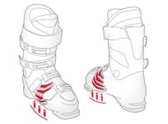 technologia i-flex stosowana w butach marki Atomic 2017
