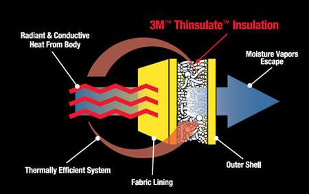Technologia  3M Thinsulate