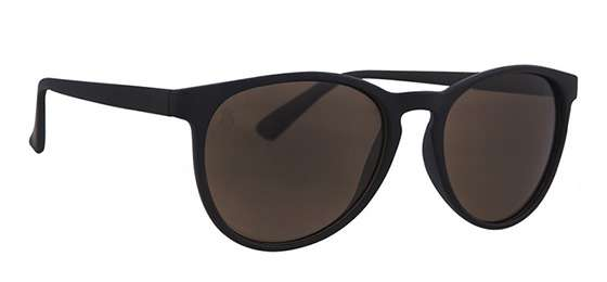 Sunglasses Majesty Rush Black Matt / Rubby Purple