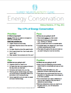 Energy conservation document