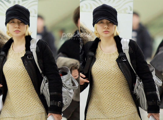 Snsd Sunny Gimpo Airport style