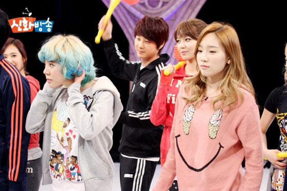 Sunny Taeyeon JTBC Shinhwa Broadcast