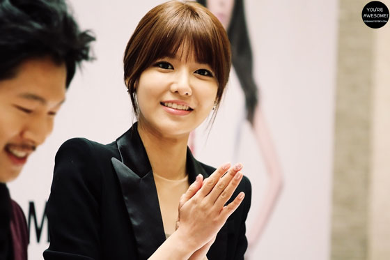 Sooyoung Double M fan signing event