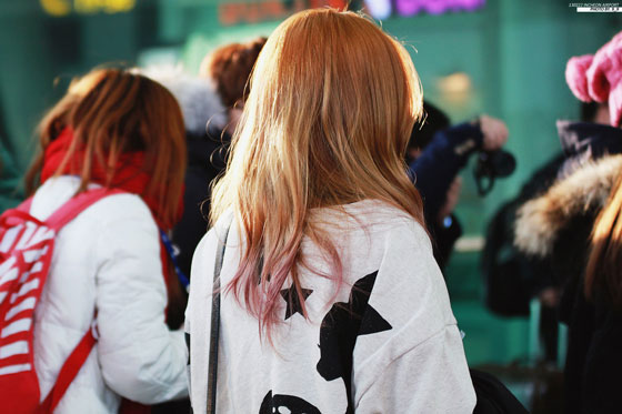 Taeyeon Incheon Airport fashion