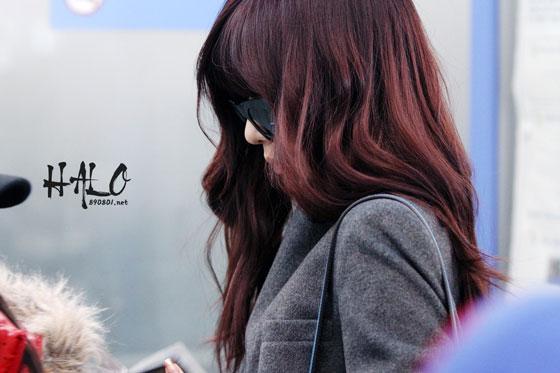 Snsd Tiffany Incheon Airport OL fashion
