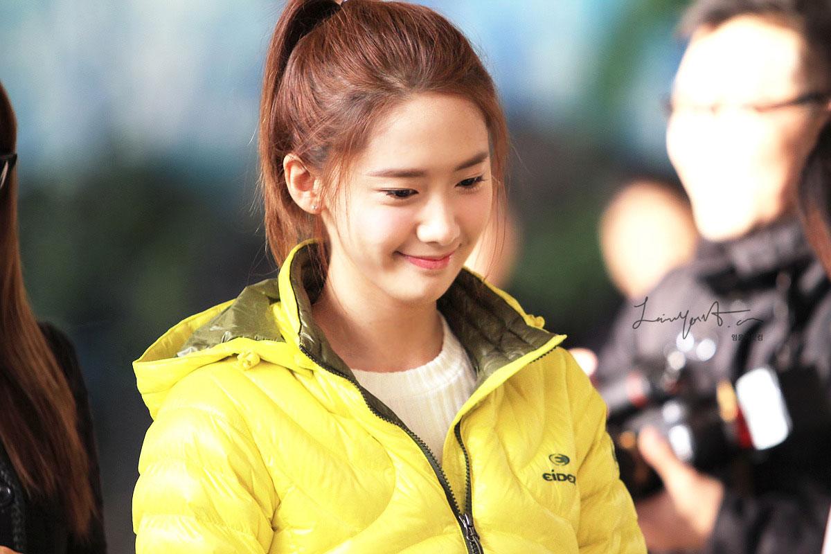 SNSD Yoona Gimpo Airport Eider fashion