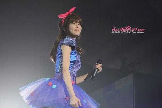 Sooyoung Niigata Japan Arena Tour