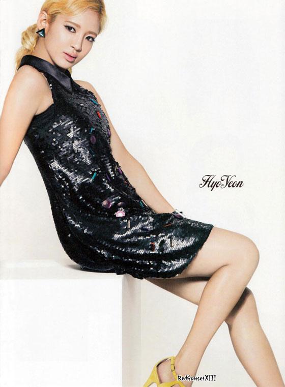 SNSD Hyoyeon Sone Note Japanese magazine