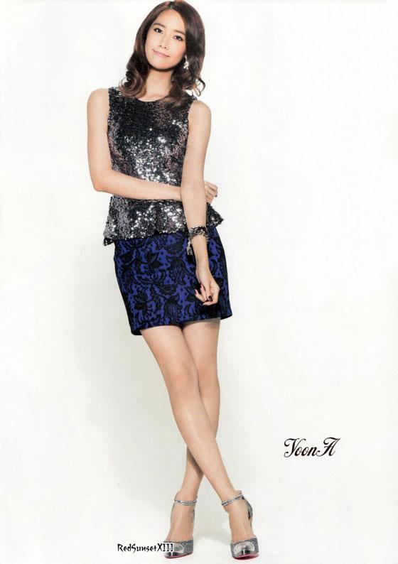 SNSD Yoona Sone Note Japanese magazine
