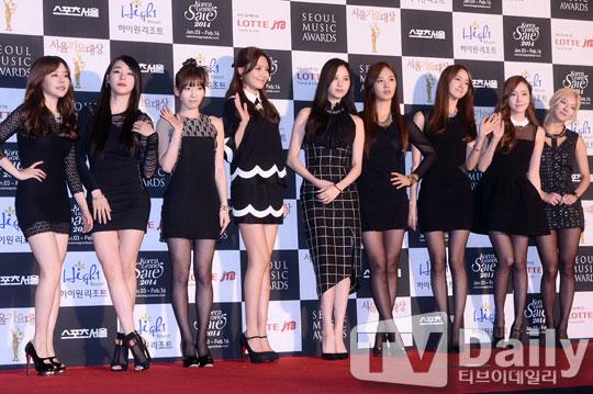 Girls Generation Seoul Music Awards 2013