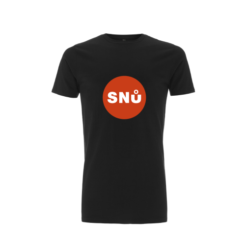Snu Wear - Ninja Tee, black unisex long-line t-shirt