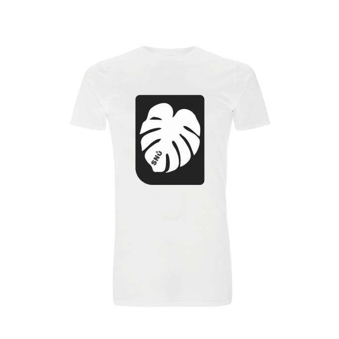 Leafy cheese plant tshirt designed by Snu Wear