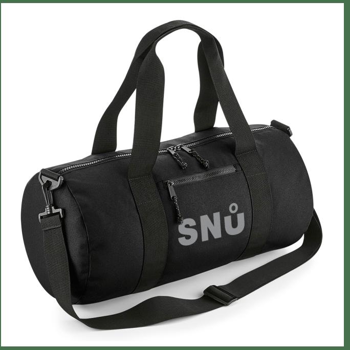 Snu Wear - Barrel Bag (Black)