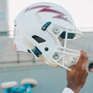 SNU football helmet