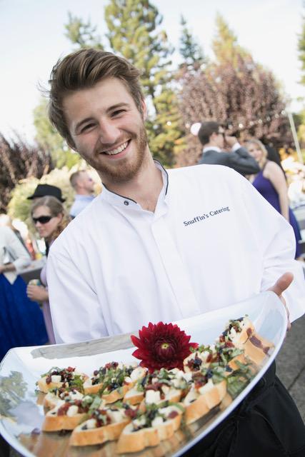 wedding appetizer service