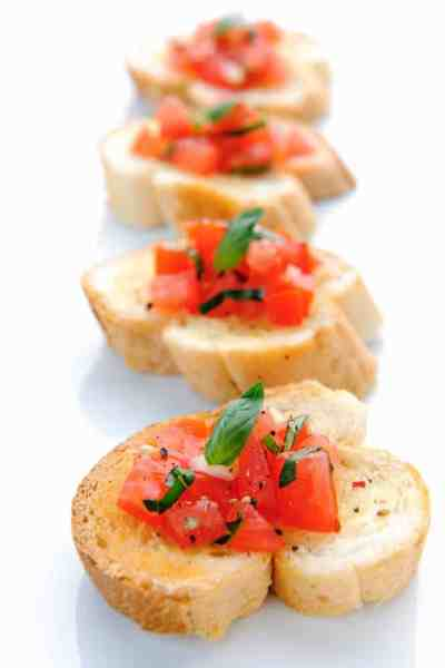 How to Make The BEST Easy Bruschetta
