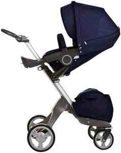 Stokke Xplory Stroller - Deep Blue - One Size