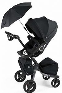 Stokke Xplory V4 True Black Complete Exclusive Edition with Extras