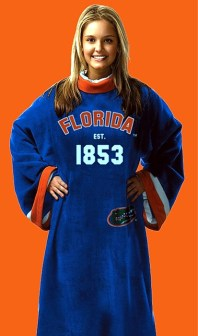 Florida Gators Uniform Snuggie