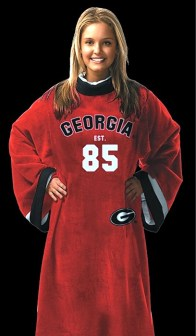Georgia Bulldogs Uniform Snuggie