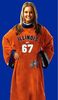 Illinois Fighting Illini Uniform Snuggie