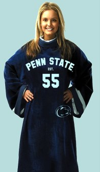 Penn State Uniform Snuggie