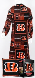 Cincinnati Bengals Snuggie Pillow