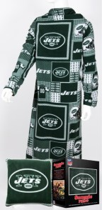 New York Jets Snuggie Pillow