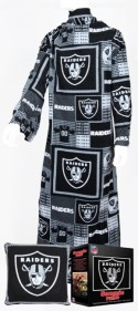 Oakland Raiders Snuggie Pillow