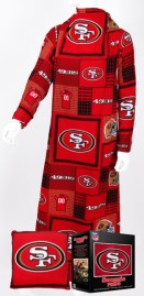 San Francisco 49ers Snuggie Pillow