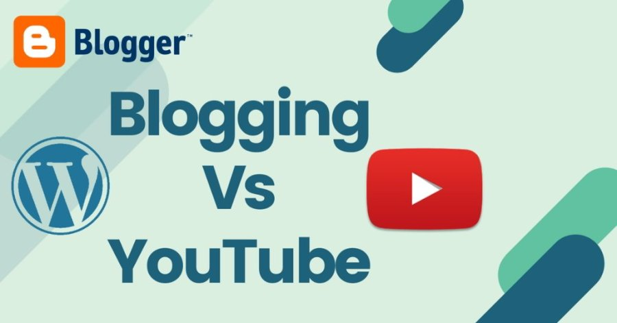 BLOGER VS YOUTUBE