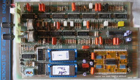 Simmons SDS 7 Dual Digital voice board