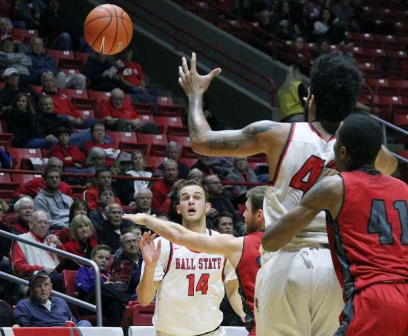 Ball State men's basketball begins travel-heavy non ...