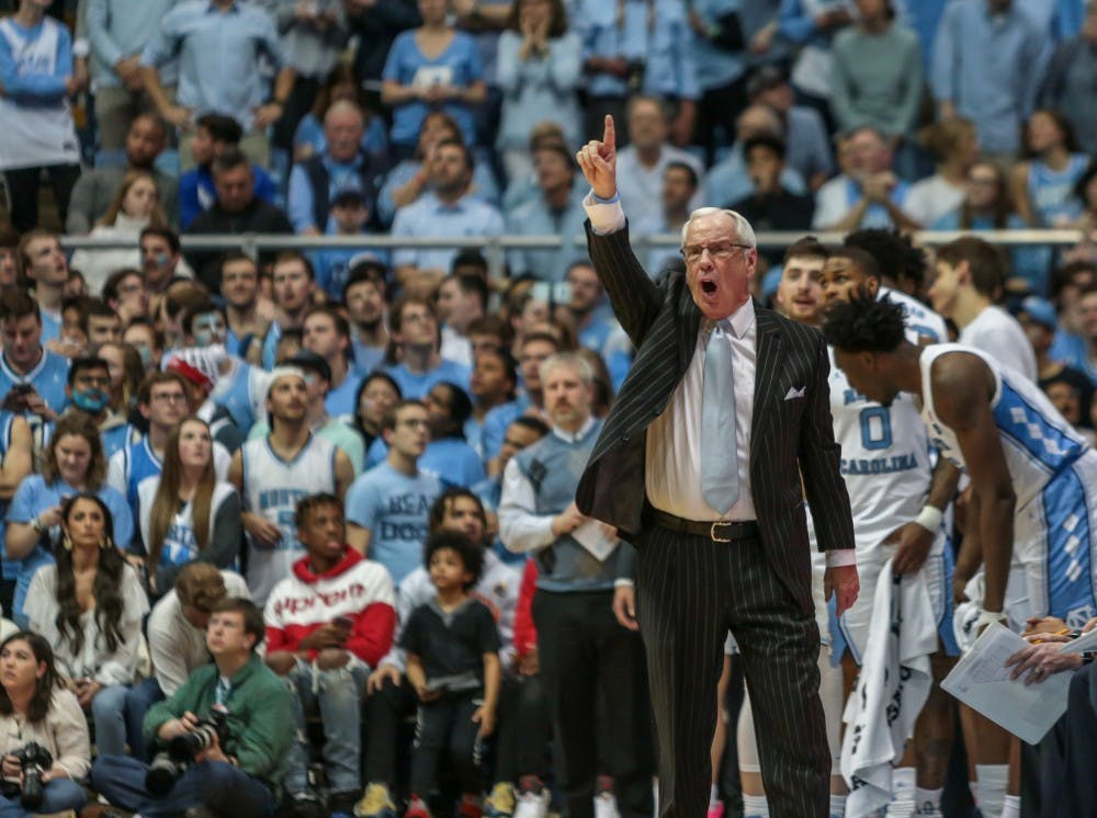 roy williams on importance of win over duke - 1000×746