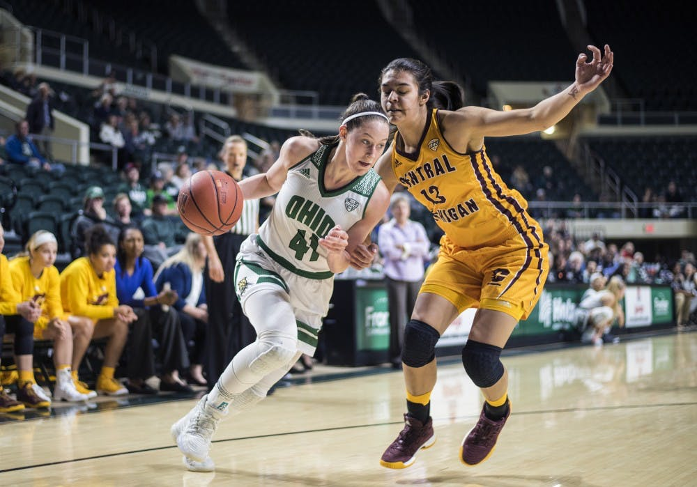 Women's Basketball: Against Kent State, Ohio has a chance to rebound after Central Michigan loss