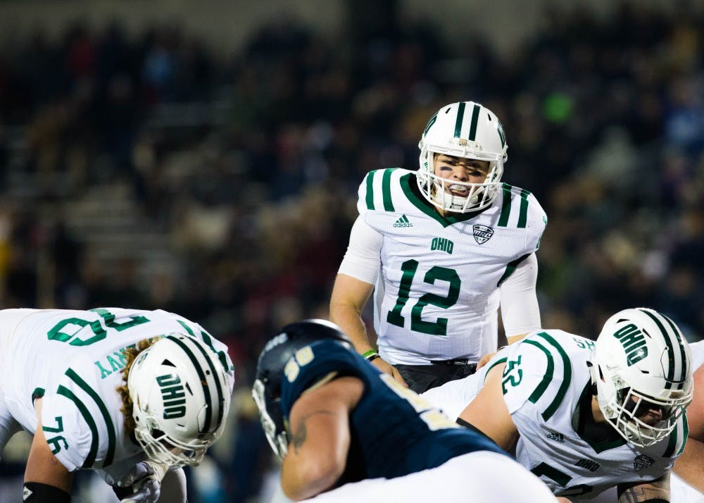 Football: Nathan Rourke knows he needs to become better passer as he and Bobcats lament 37-34 loss against Akron