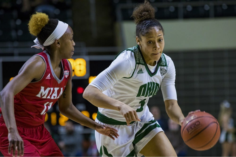 Women's Basketball: Ohio loses 62-59 against Akron, ends regular season on three-game losing streak