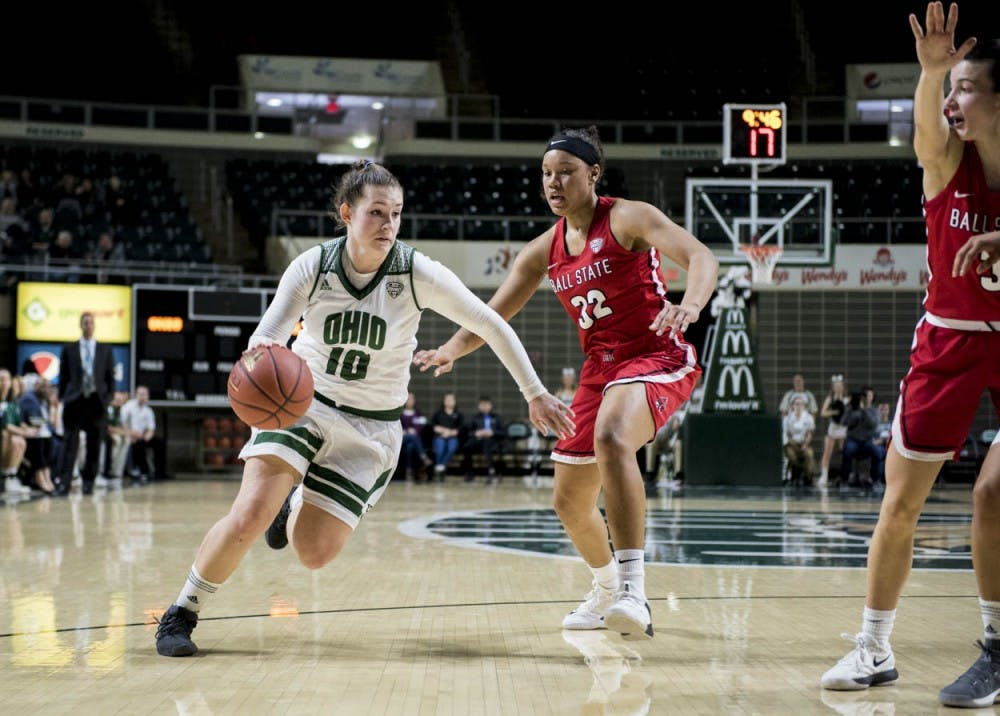 Women's Basketball: How Ohio's lineup flexibility showed in the win over Ball State