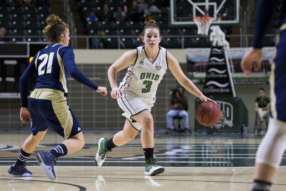 Women's Basketball: Ohio defeats Toledo 78-61 to open MAC play