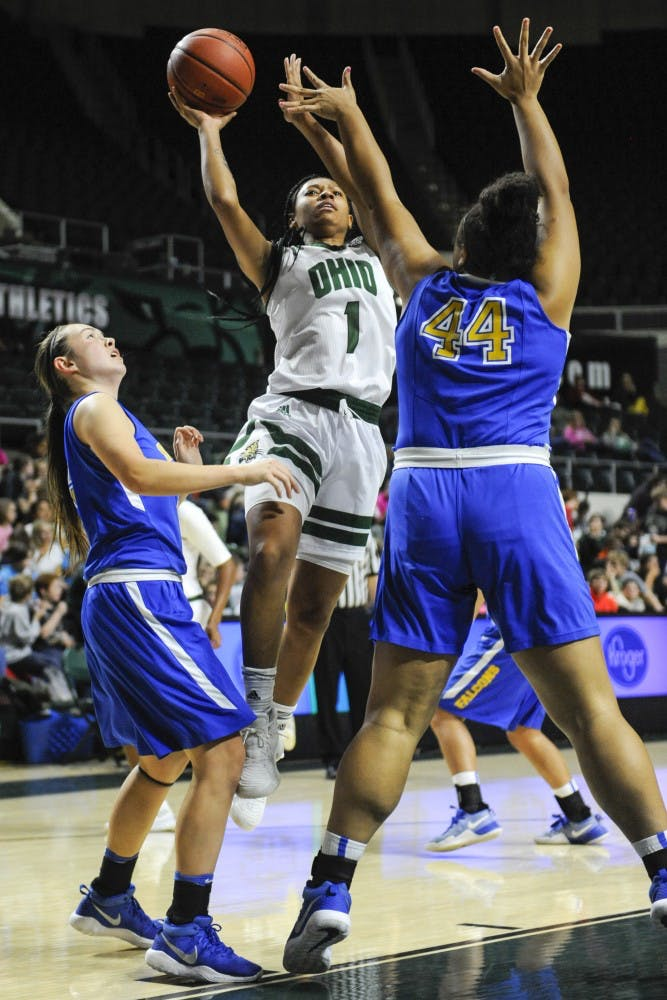 Women's basketball: Game-winning layup gives Ohio 54-52 win over Marshall