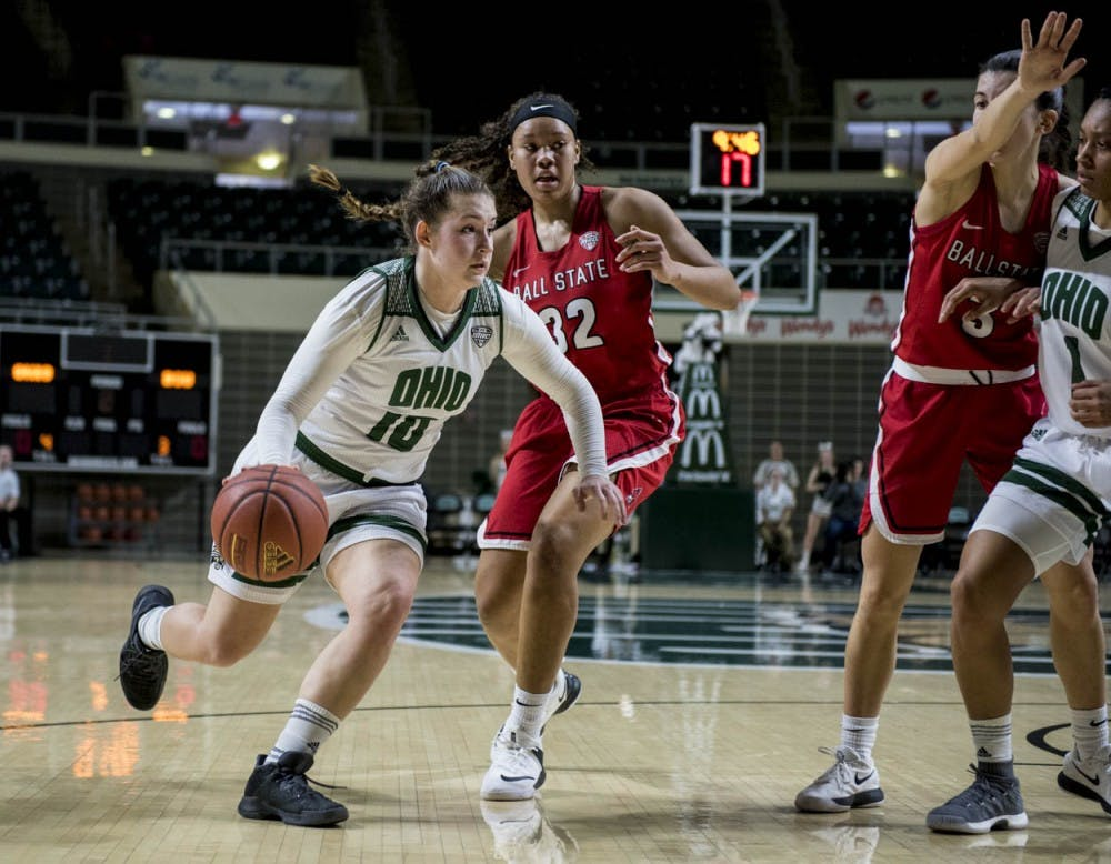 Women's Basketball: Ohio will need to defeat Miami to keep fourth seed hopes alive for MAC Tournament