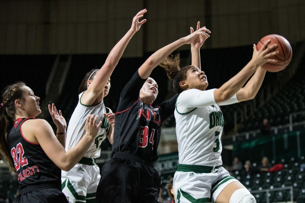 Women's Basketball: Ohio maintains lead despite physical game against Kent State, wins 78-65