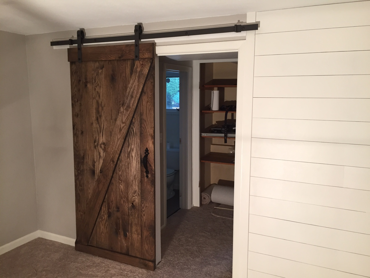 Shiplap And Barn Door Snyder Carpentry And Remodeling