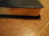 NASB Reference Bible Genuine Calfskin Black 007