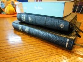 cambridge kjv, holman ministers kjv and funky lil kjv 131