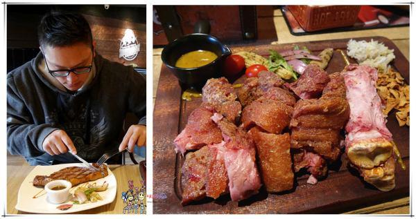 桃園美食,中壢美食,聖誕大餐,BISON野牛牛排餐廳,牛排,戰斧豬排,德國豬腳,中原美食
