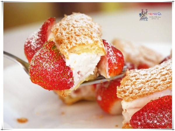 法橙法式甜點,營業半小時,草莓甜點,草莓泡芙,草莓季,桃園甜點,桃園美食